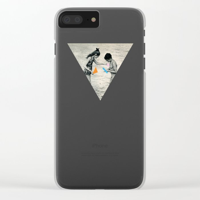 Washed Up Clear iPhone Case