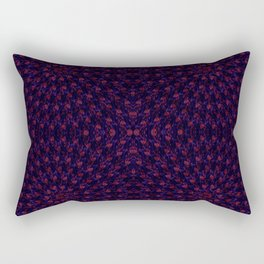 Hypnotic Bouquet Pattern Rectangular Pillow