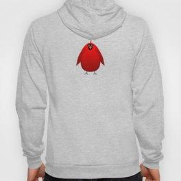 Portly Mr Cardinal Cartoon Character Hoody