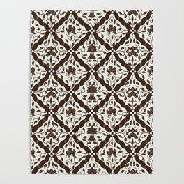 Batik Style 9 Poster
