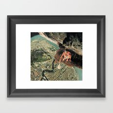 Miles From Everywhere Framed Art Print