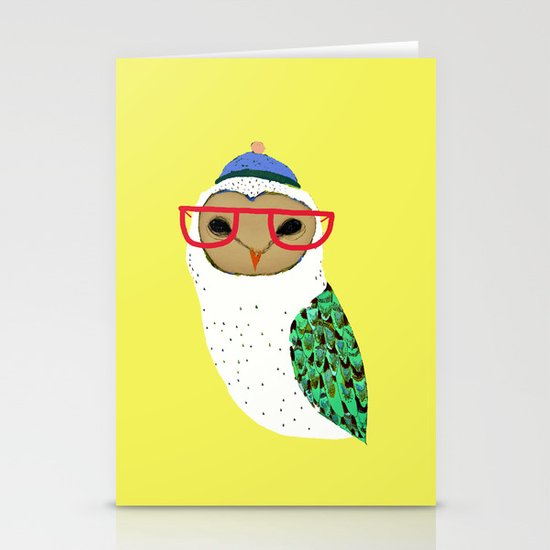 I Love Owls Stationery Cards