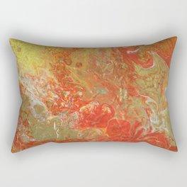 """""""Fire"""" by Inessa Laurel. Modern art. Rectangular Pillow"""