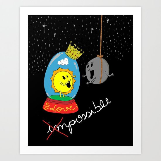 Possible Love Art Print
