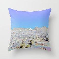Chromascape 4: Delhi Throw Pillow
