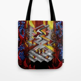 Marble Madness: Where Good Marbles Go To Die Tote Bag