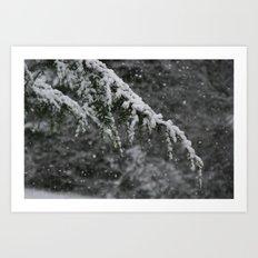 Snowy Day 3 Art Print