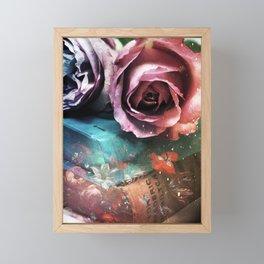 For the love of books Framed Mini Art Print