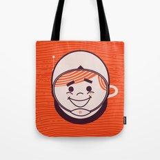 Retro Space Guy Tote Bag