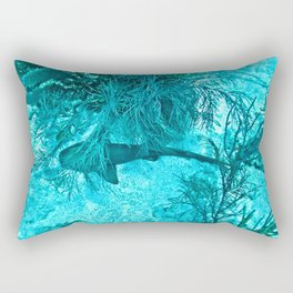On the Ocean Floor Rectangular Pillow