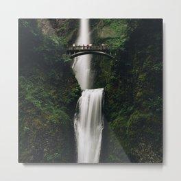 Multnomah Falls, Or Metal Print