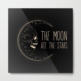 The Moon Ate the Stars Metal Print