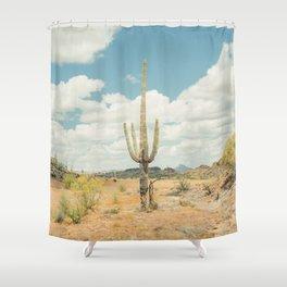 Old West Arizona Shower Curtain