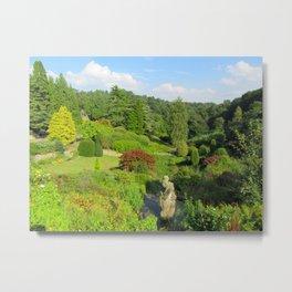 Alton Towers Gardens, uk Metal Print
