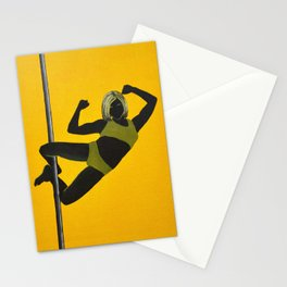 The Boxer | Pole Dancer Series Stationery Cards