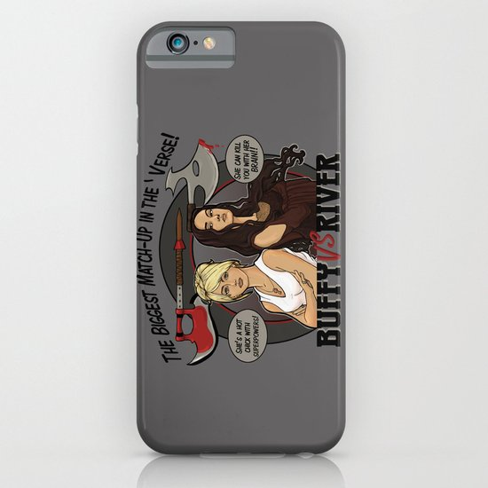 Buffy vs River iPhone & iPod Case