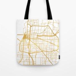MEMPHIS TENNESSEE CITY STREET MAP ART Tote Bag