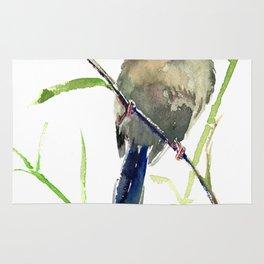 Yuhina Bird Rug