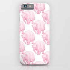 Pink Elephant iPhone 6 Slim Case