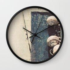 Snail family Wall Clock