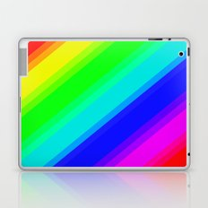 Brightly Coloured Stripes Laptop & iPad Skin