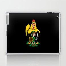 The Legend of Ernie (dark background) Laptop & iPad Skin