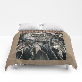 Eddie the Head / Iron Maiden (DRAWLLOWEEN 8/31) Comforters