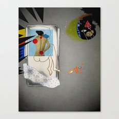 Sometimes The Mind Breaks Canvas Print