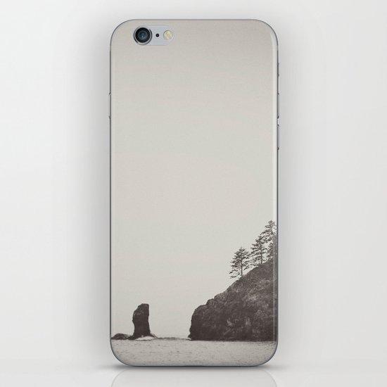 Beach Black and White iPhone & iPod Skin