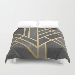 Art Deco Geometry 1 Duvet Cover