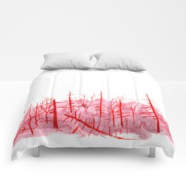 Sanguine Copse Comforters