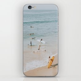 lets surf iii iPhone Skin