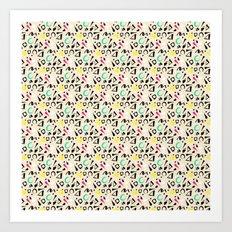 Katy's Pattern Art Print