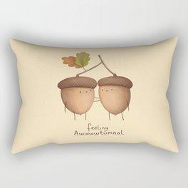 Feeling Awwwwtumnal Rectangular Pillow