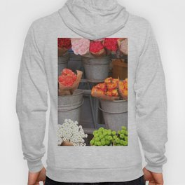 Flowers in buckets Hoody