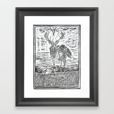 The Peryton II Framed Art Print