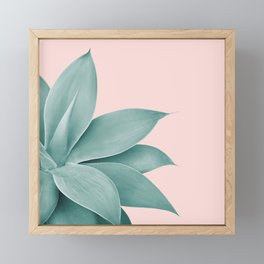 Agave Finesse #3 #tropical #decor #art #society6 Framed Mini Art Print