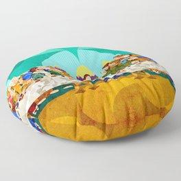 Curves - Last Supper Floor Pillow