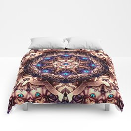 Mandaleyes - Designed for leggings and all over print t-shirts Comforters