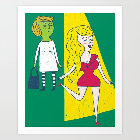 Jealousy Art Print