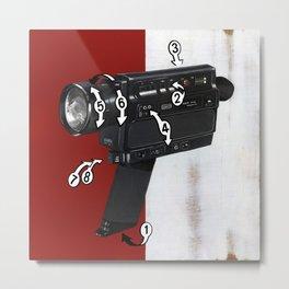 Bad Robot - Super8 Metal Print