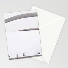 Black & White Guggenheim / New York, NY Stationery Cards