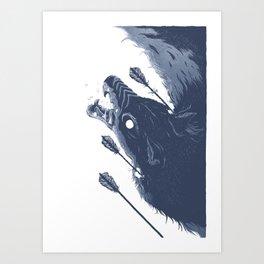 LunaRift Art Print