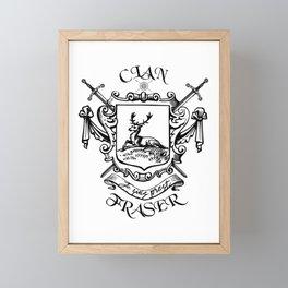 COAT OF ARTMS CLAN FRASER Framed Mini Art Print