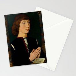 "Hans Memling ""Young Man at Prayer"" Stationery Cards"