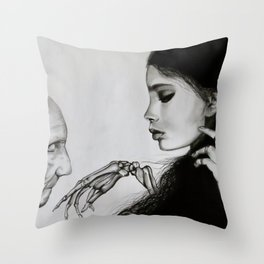The Final Kiss Throw Pillow