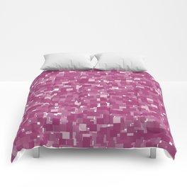 Festival Fuchsia Pixels Comforters