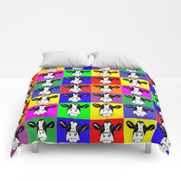 Cows in Color Comforters