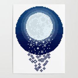 Raining Moondust Poster