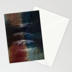 Rusty Feathers Stationery Cards